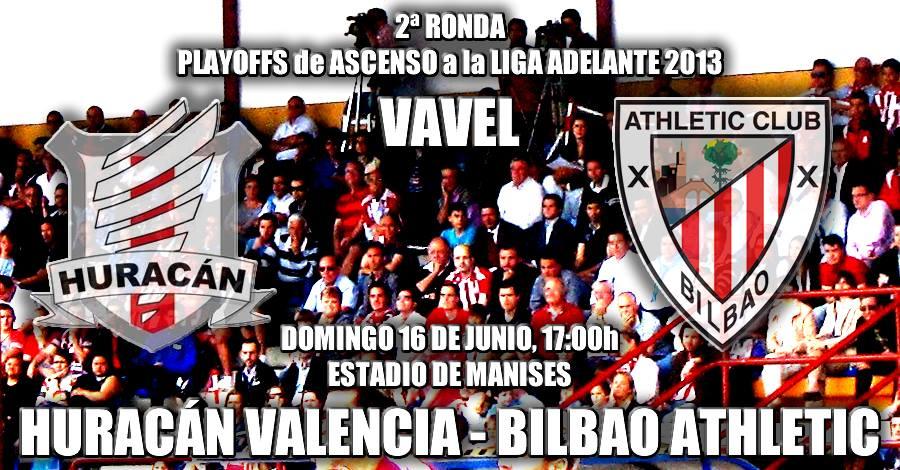 Resultado Huracán Valencia - Bilbao Athletic en Segunda División B 2013 (2-1)