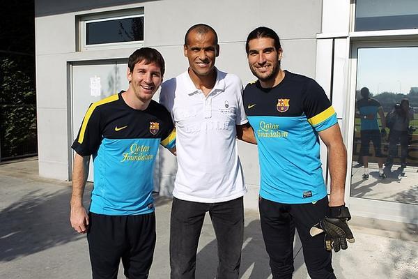 """Rivaldo: """"En mi época, el Barça no tenía esta estructura tan impresionante"""""""