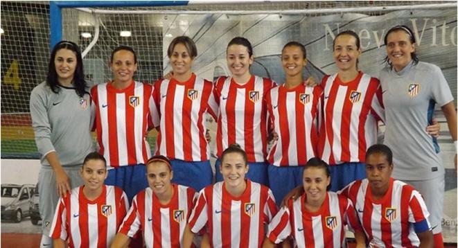 Las chicas del Atlético solidarias con Dani