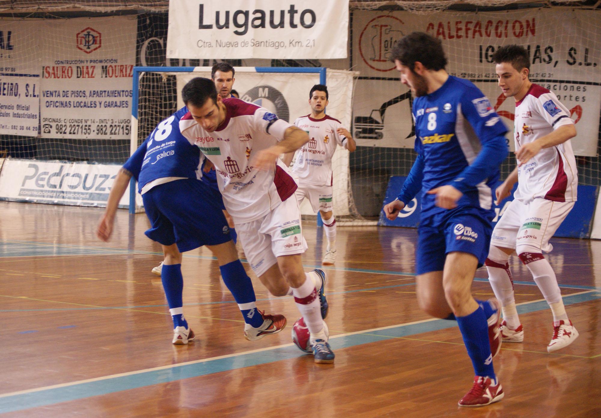 Azkar Lugo - Caja Segovia: tres puntos para la tranquilidad