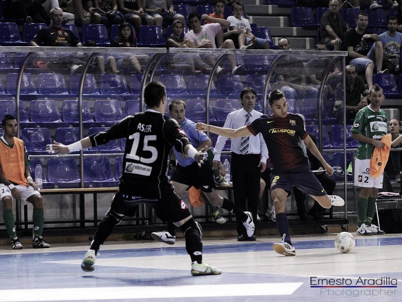 Triman Navarra - FC Barcelona Alusport: en busca de la confirmación