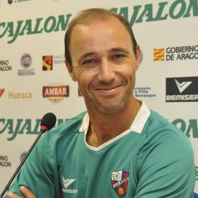 Antonio Calderón, nuevo entrenador del Huesca