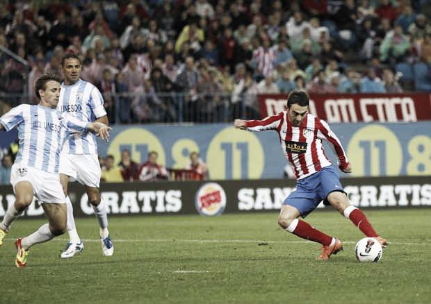 Atlético - Málaga: lucha por la segunda plaza tras una semana gloriosa