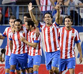 El Atlético se llevó un partido al que el Rayo Vallecano llegó tarde