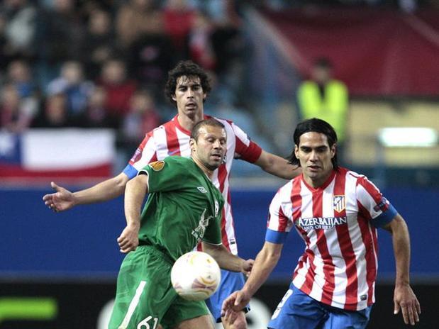 Atlético de Madrid - Rubin Kazan: puntuaciones del Atlético de Madrid, Ida 1/16 Europa League