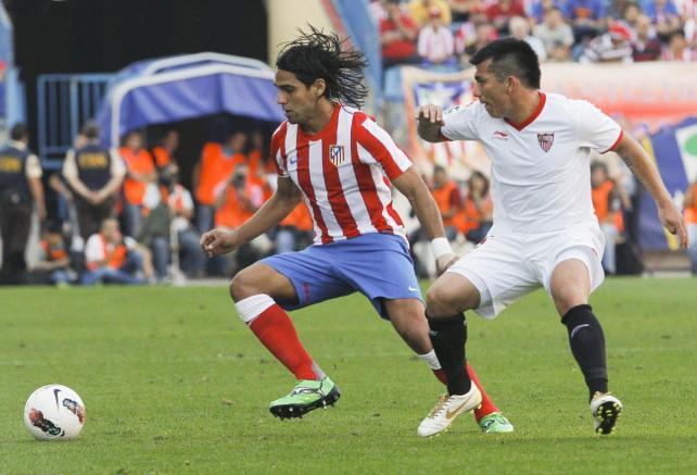 Atlético de Madrid - Sevilla: duelo entre derbis en el Calderón