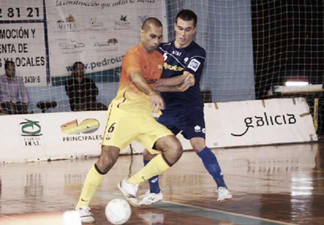 FC Barcelona Alusport - Azkar Lugo: Liga, antes que Copa