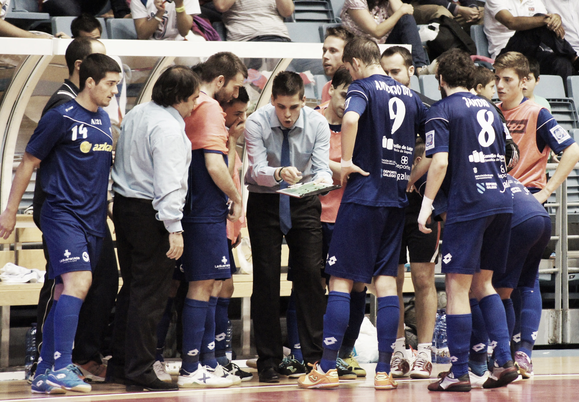 Umacon Zaragoza - Azkar Lugo: aspiraciones de Copa