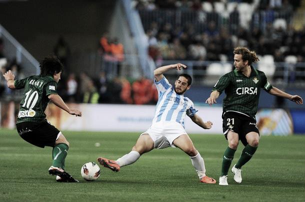 Málaga - Betis: tres puntos con sabor a Champions