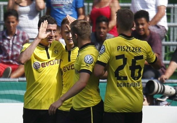 Primera ronda de la DFB Pokal