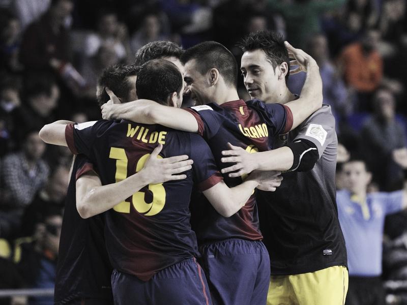 Seis minutos le bastan al Barcelona para golear a Puertollano