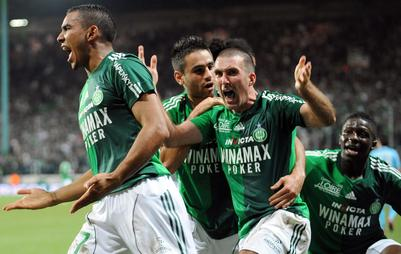 Saint Etienne se replace dans la course à l'Europe