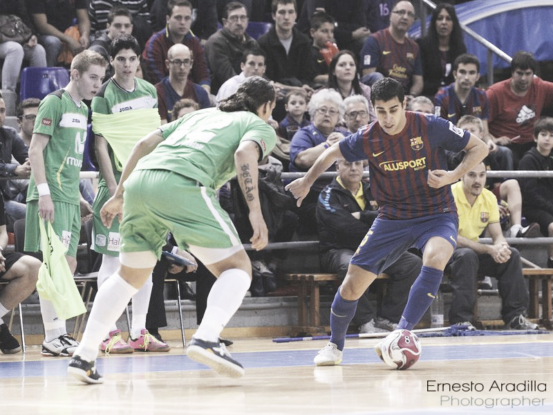 Betao se cruza en el camino del FC Barcelona Alusport