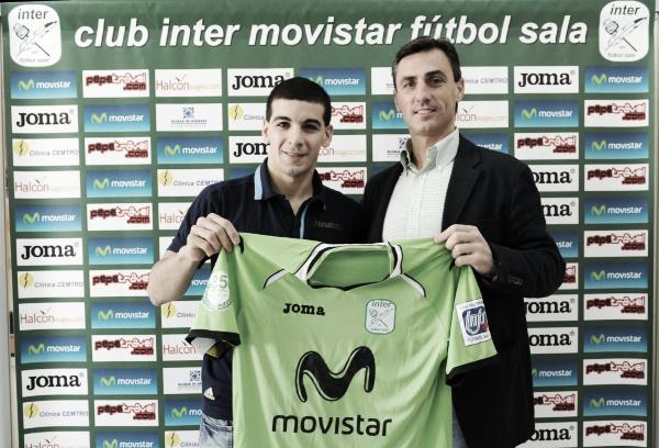 Borruto, presentado como nuevo jugador de Inter Movistar
