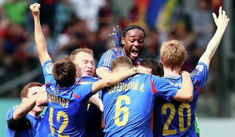 Le CSKA Moscou nouveau Roi de Russie