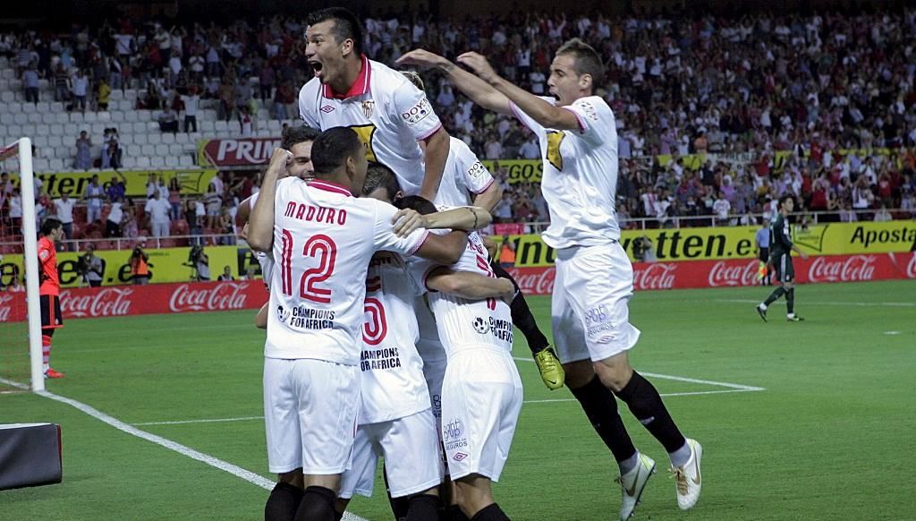 El Sevilla se clasifica para la fase de grupos de la Liga de Campeones