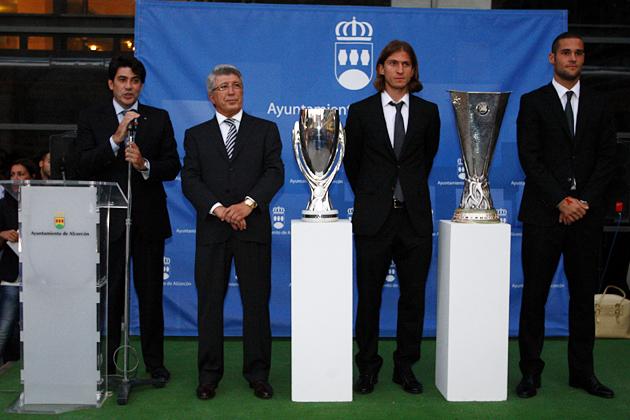 El Atlético ofrece este martes los éxitos europeos a El Burgo de Osma