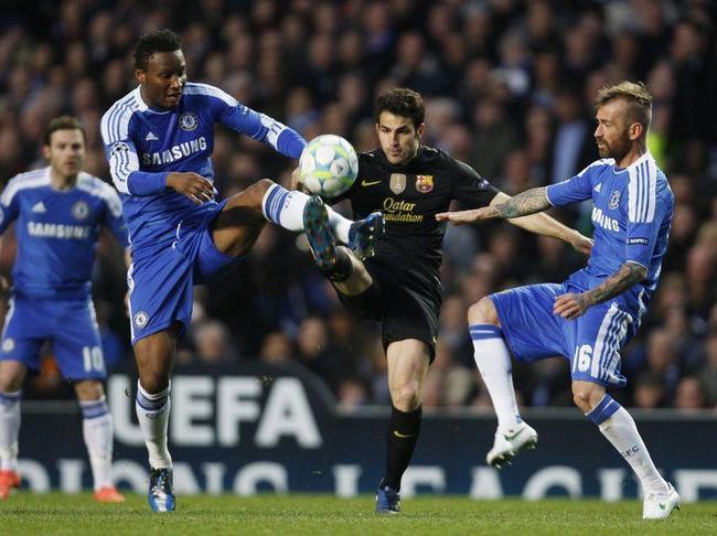 """Un Chelsea """"mourinhesque"""", défait le Barça à Stamford Bridge"""