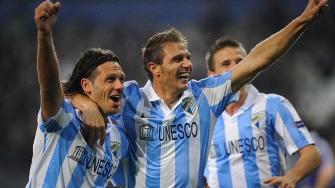 Málaga - Real Madrid: puntuaciones del Málaga, jornada 17