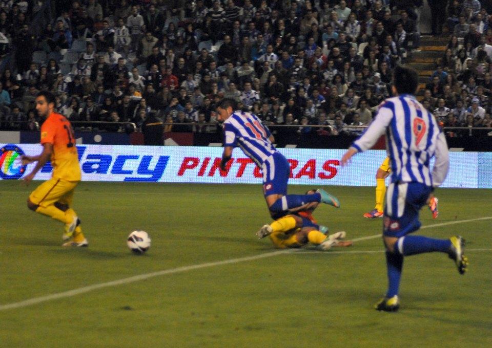 Deportivo - Barcelona: puntuaciones del Dépor, jornada 8