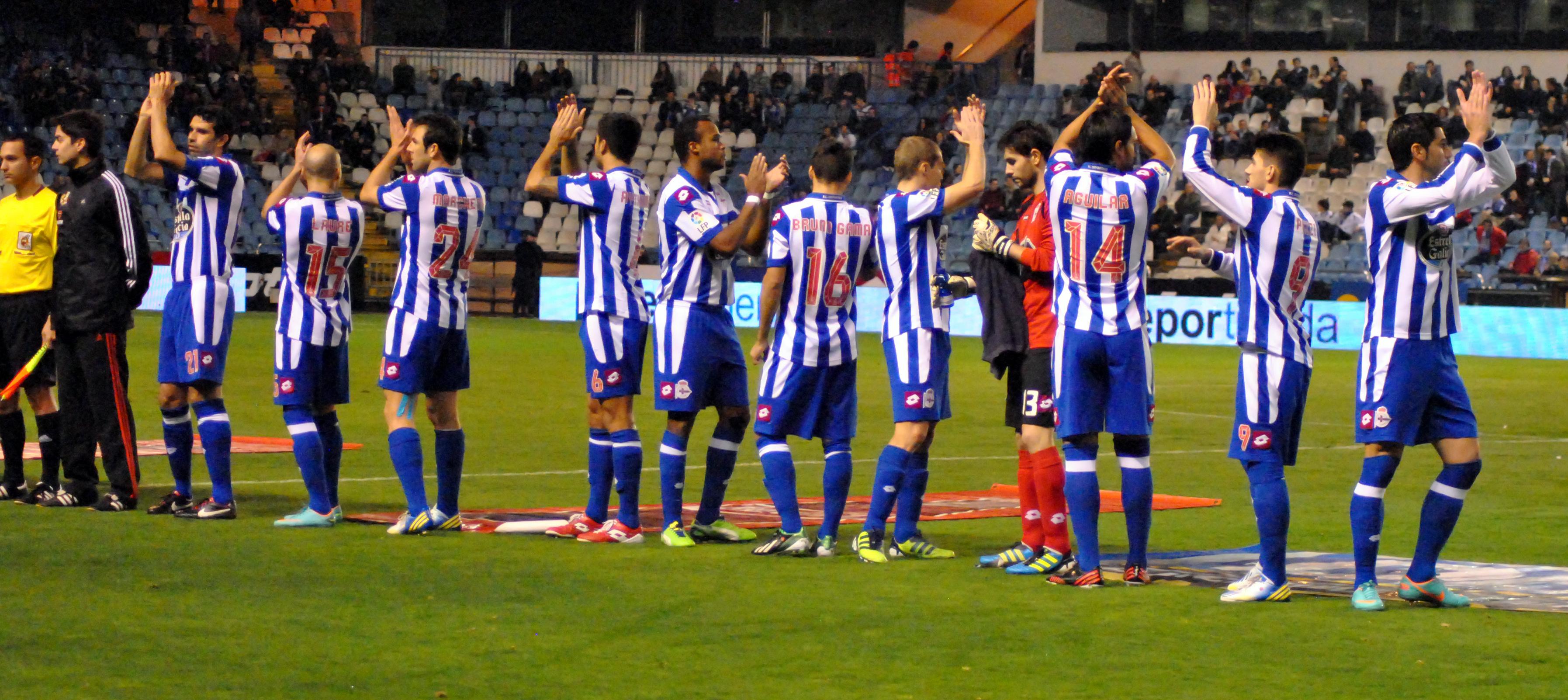 Las mejores imágenes del Deportivo - Valladolid