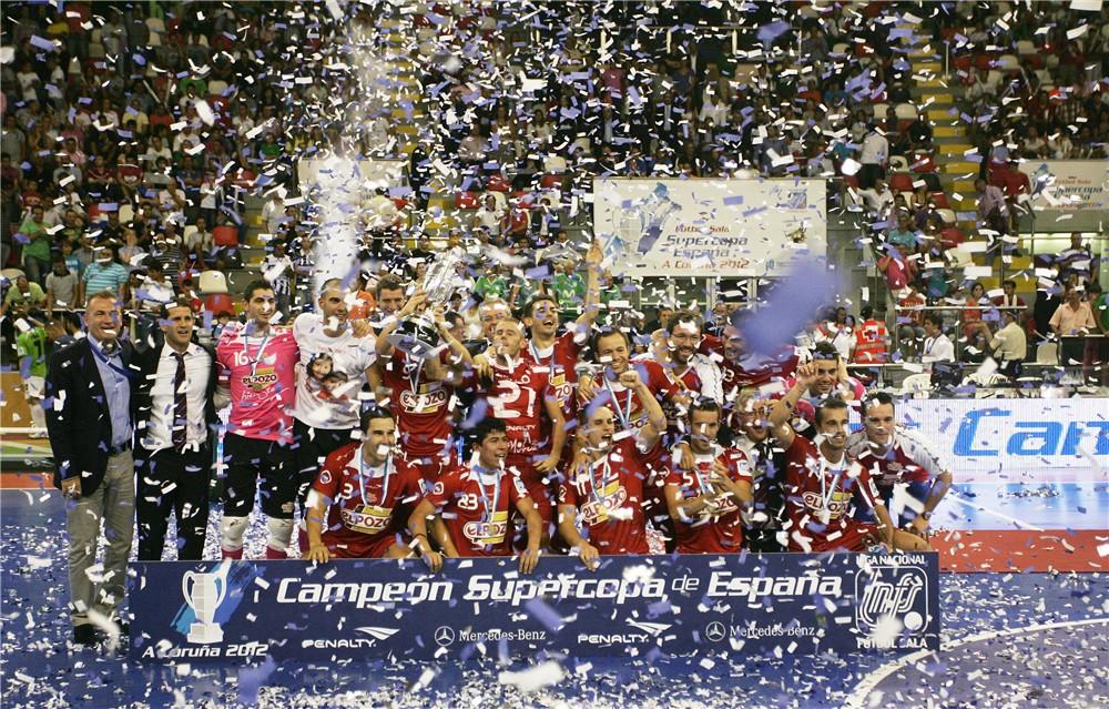 ElPozo Murcia vence en los penaltis a Inter Movistar y se hace con su cuarta Supercopa de España