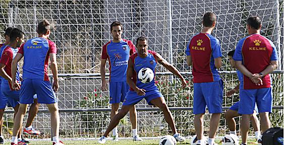 Penúltimo entrenamiento antes de partir hacia Málaga