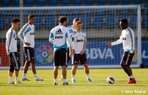 El Real Madrid entrenará hoy a las 17:00h