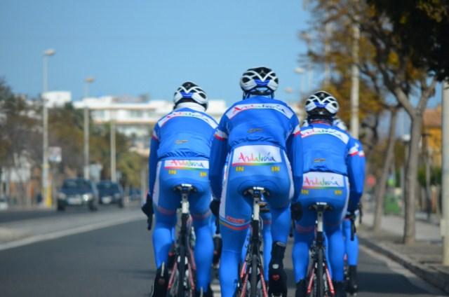 El equipo Andalucía se queda fuera de la categoría Profesional Continental