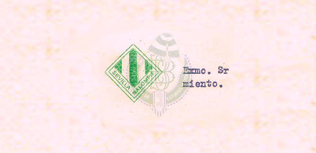 Descubierto un escudo perteneciente al Sevilla Balompié de 1914