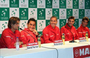 Copa Davis: David Ferrer abrirá el fuego ante Sam Querrey