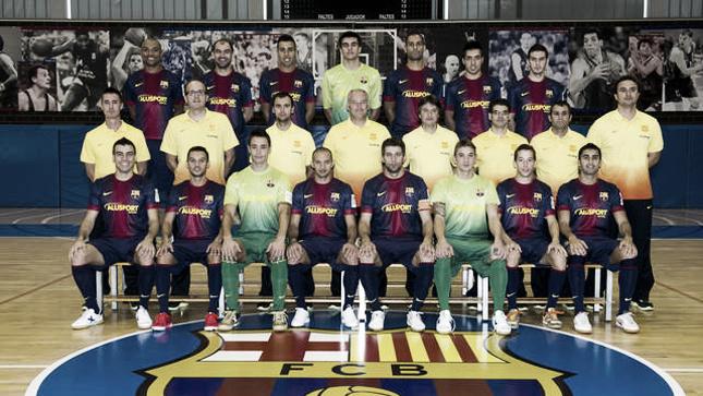 (GUÍA LNFS) FC Barcelona Alusport 2012/2013