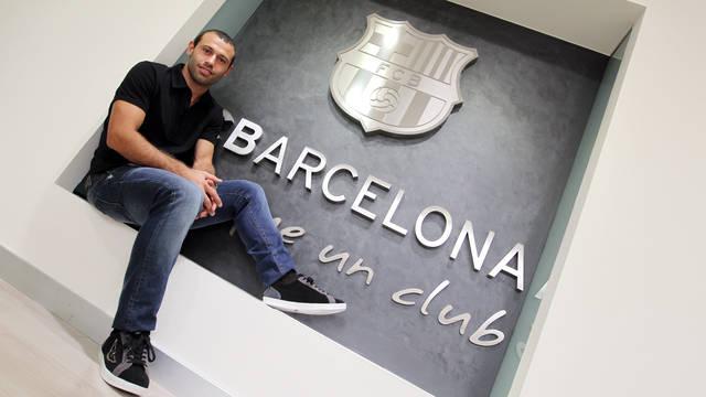 Mascherano renueva hasta el 2016