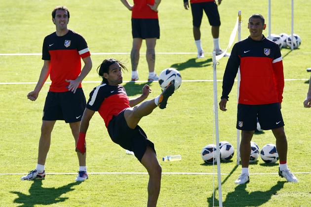 Falcao se reincorpora a los entrenamientos del Atlético de Madrid