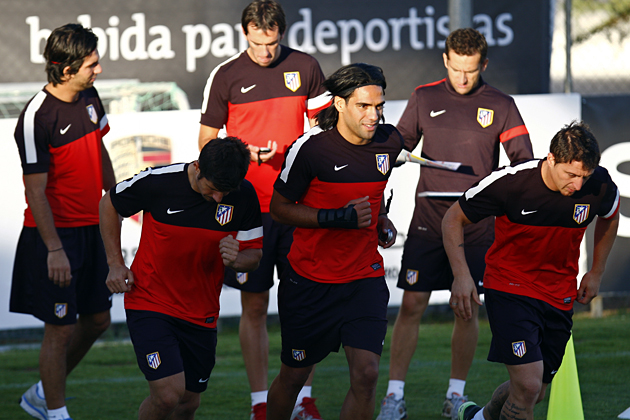 Los internacionales ya preparan el partido frente a Rayo Vallecano