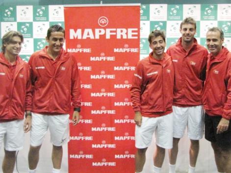 El equipo español de Copa Davis homenajeará a Miki Roqué en Gijón