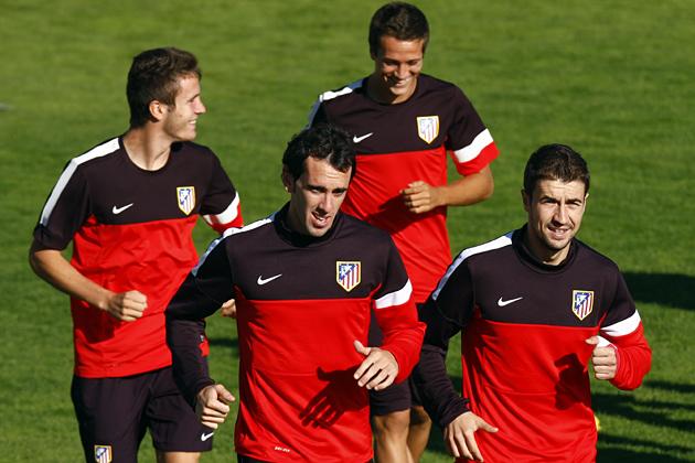 El Atlético ya se entrena con la vista en el Betis