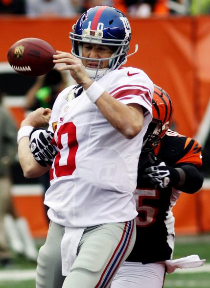 Andy Dalton aprovecha la hibernación de los Giants