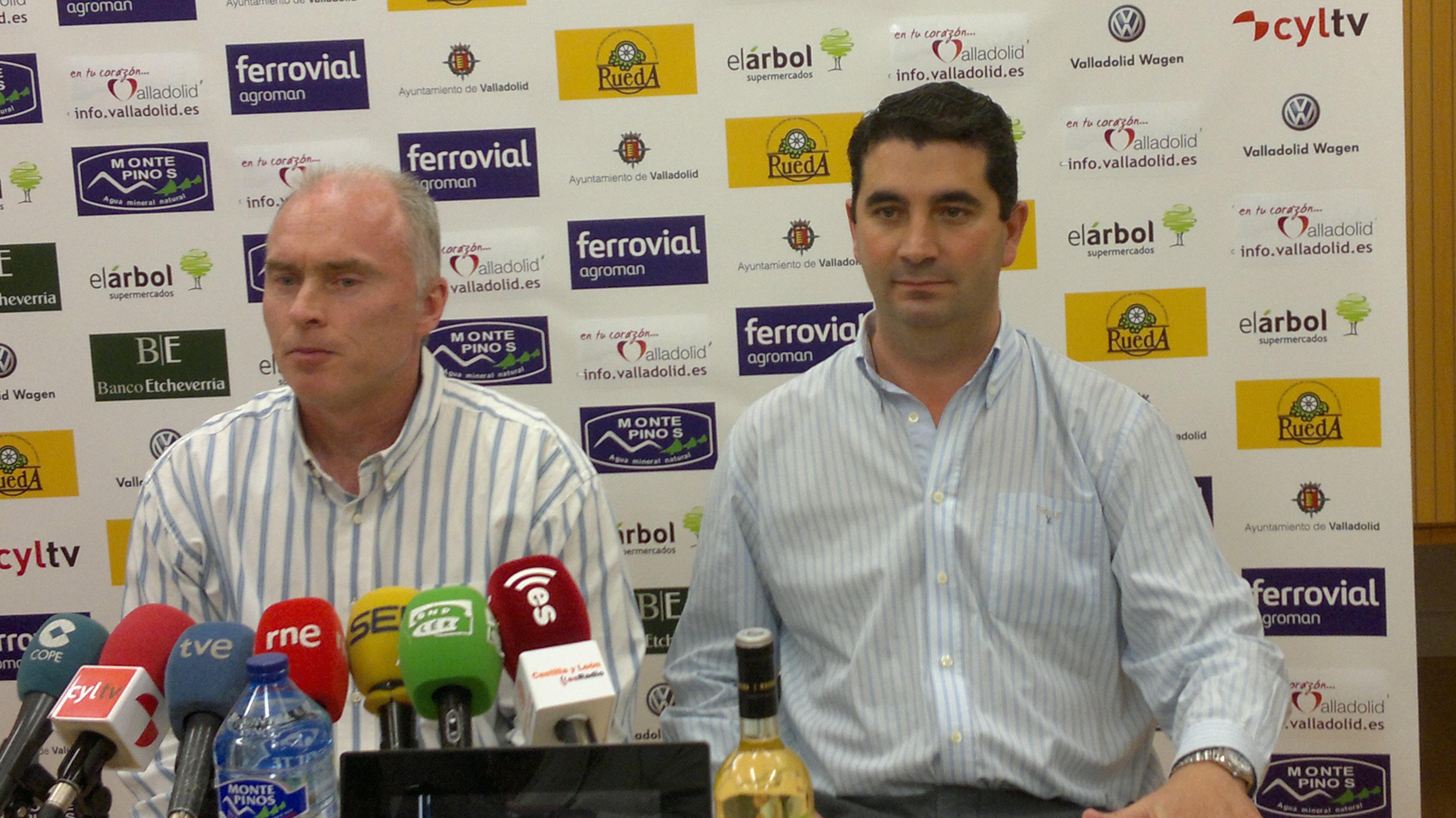 Hansen y Javier Baró explican la cruda realidad del CB Valladolid en su presentación