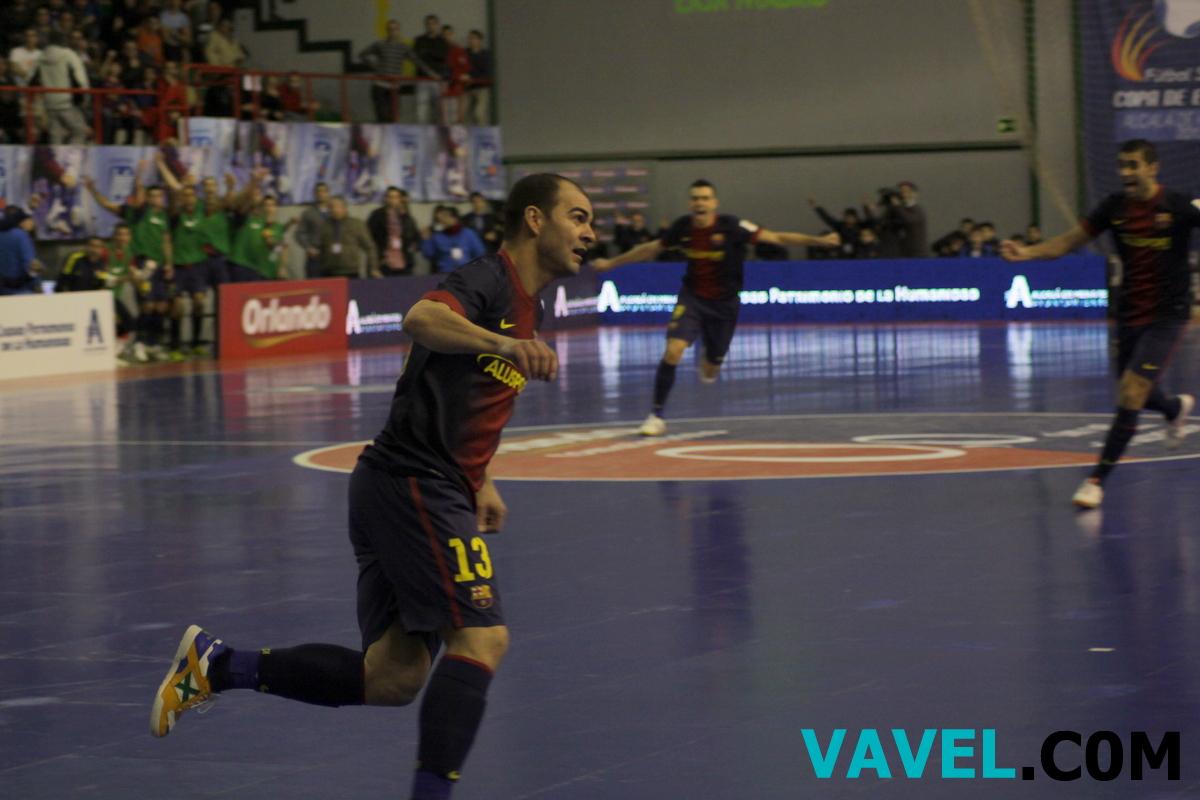 El FC Barcelona Alusport se mete en la final por la puerta grande