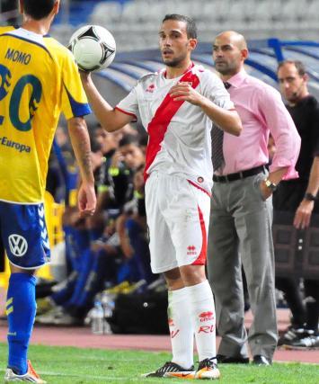 Nacho, titular en Copa frente a Las Palmas