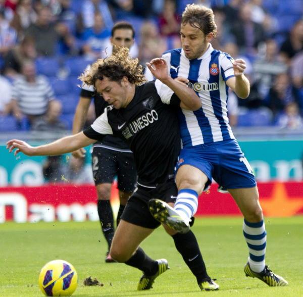 Espanyol - Málaga: puntuaciones del Málaga, jornada 9