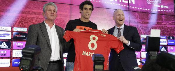 El Bayern presenta a Javi Martínez