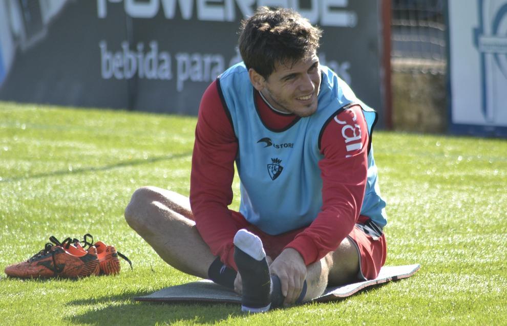 Jon Echaide, novedad en la convocatoria del partido ante el Atlético de Madrid