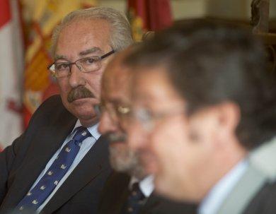 Mayordomo da el relevo a José Luis de Paz en la presidencia del Blancos de Rueda Valladolid