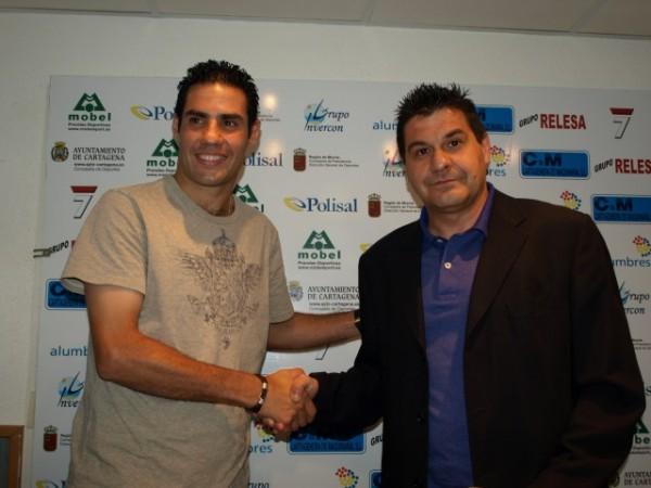 Juanmi dejará de ser el entrenador de porteros del Cartagena