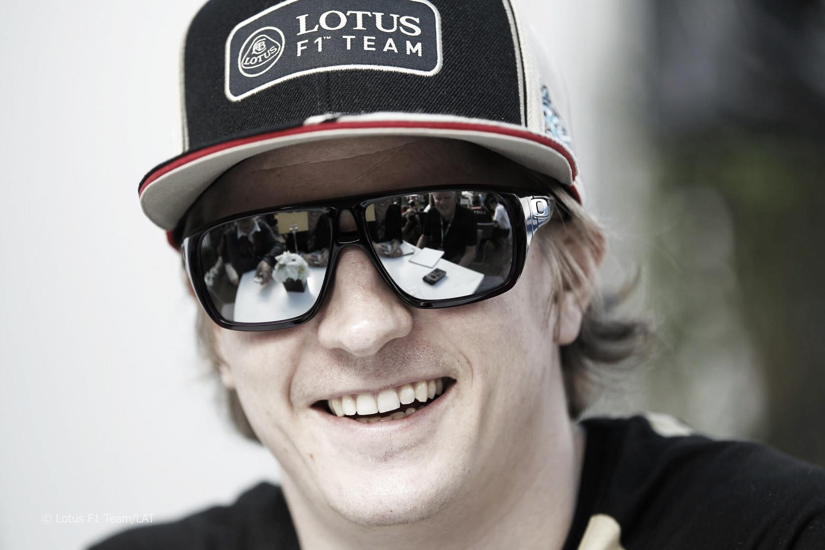 Kimi Raikkonen y su calculadora apuntan a Alonso y Hamilton