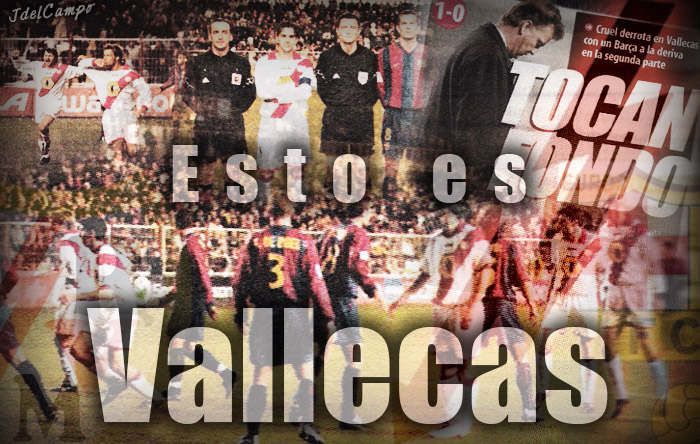 Las tres derrotas culés en tierras vallecanas