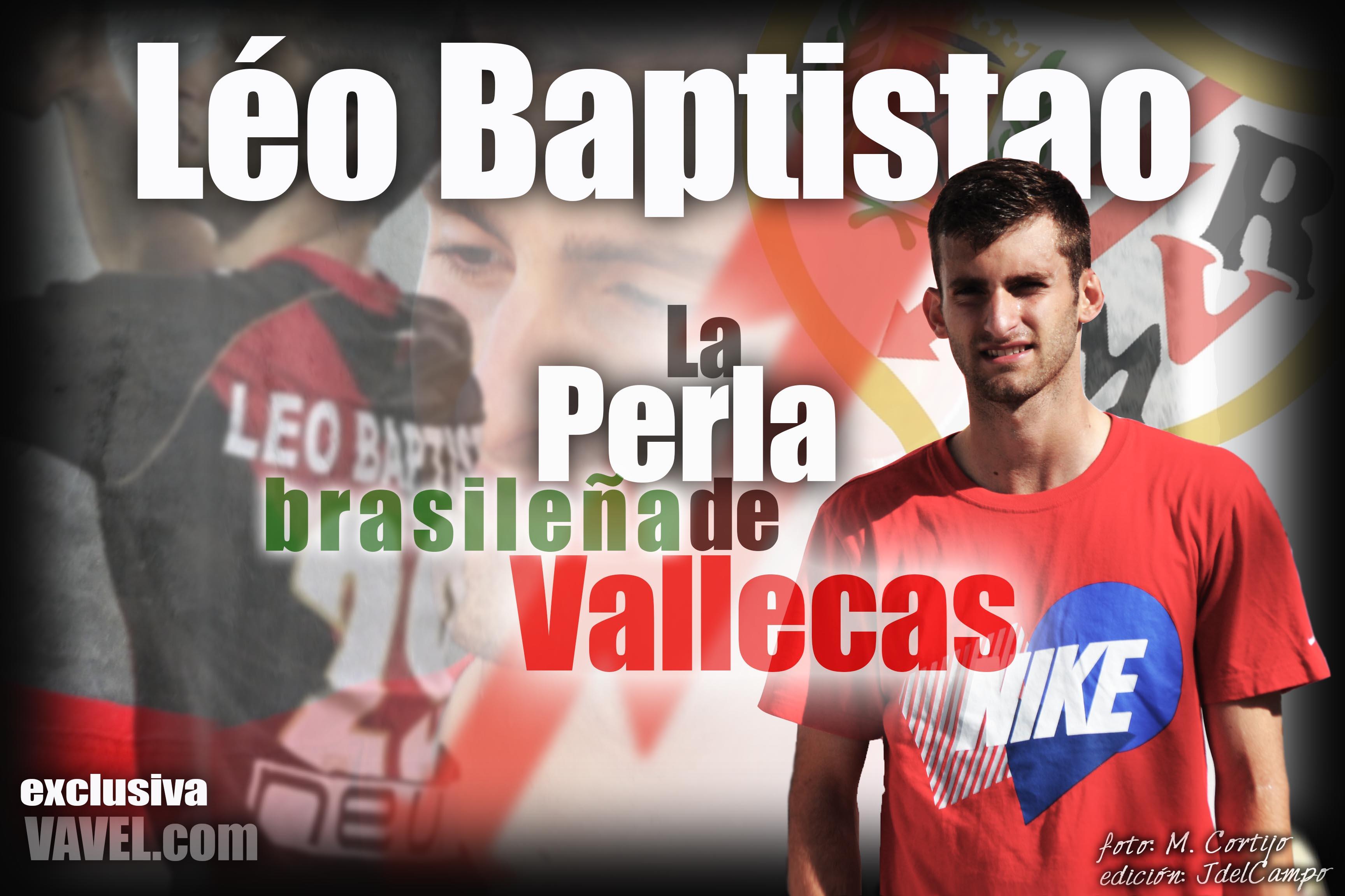 """Léo Baptistão: """"Mi mejor momento fue el debut, quería hacerlo con el Rayo"""""""