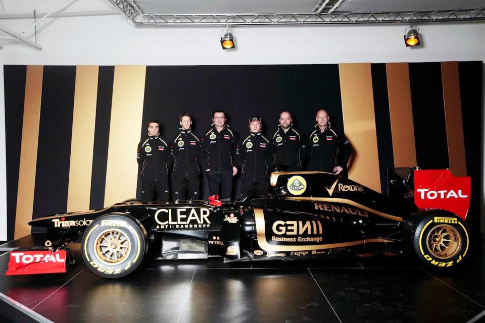 Lotus F1 Team: con el orgullo por bandera